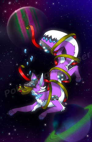 Space Fox by PoisonTransformer