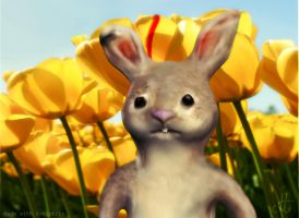 3d rabbit by Matylly