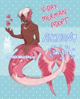 ::Adopt:: Vday Merman (CLOSED) by MadCarnival