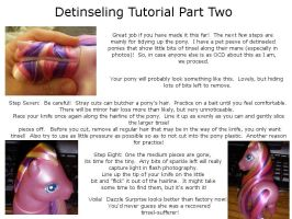 Removing MLP tinsel tutorial by colorscapesart
