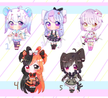 Batch of Adopt [Auction] [0/5 CLOSED TY!] by Trashochist