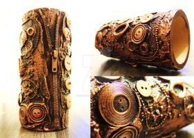 steampunk vase by Darkshirley
