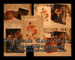 Christmas Card Stock Pack by SafariSyd
