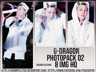 G-Dragon (BIG BANG) - PHOTOPACK#02 by JeffvinyTwilight