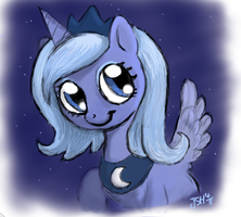 'Woona Shows Off' Drawing by TurboSolid