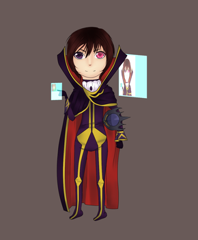.:Lelouch Lamperouge :. by Razia1
