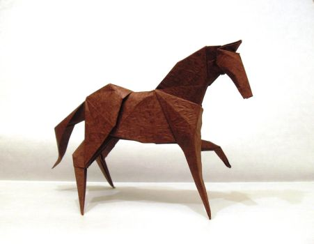 Nth origami horse by Orestigami