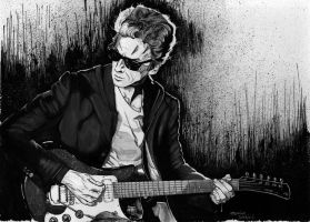 Peter Capaldi: the Rock Doctor by dmbarnham