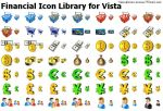 Financial Icon Library for... by alexwhite2
