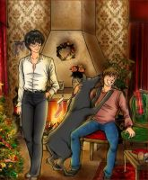 Christmas at James' Home by shatzy-shell