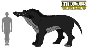 Mythologies - Ammit the Devourer 2013 by HewyToonmore