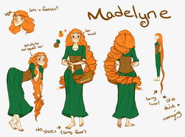 Madelyne ref by McSauces13