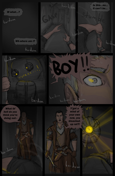 Nightmare, Page One by Drakarra