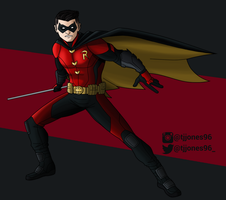 Robin the Boy Wonder by TJJones96
