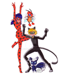 Miraculous Pokemon by GoldenMew