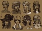 Tan sketches 15 by WMDiscovery93