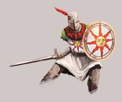 Solaire of Astora by OneSpeechless