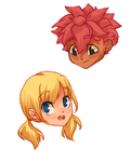 Fairy Tail Stickers!! by fingermammoth