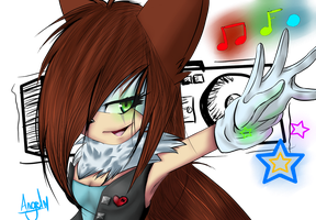 .:mY h3aRt'S a St3reO:. by JurieWolfie