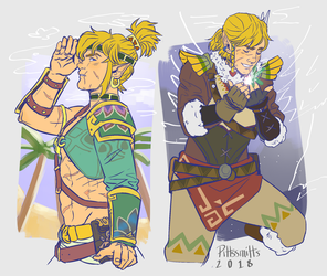 Hot N Cold Link by pittssmitts