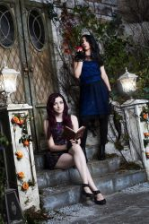 Inspired by Mal and Evie from Descendants by ForsakenWitchery