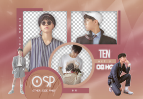 Ten PNG PACK#3|NCT U by Upwishcolorssx