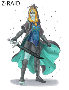 Commission: Fierce Deity Midna by Z-Raid