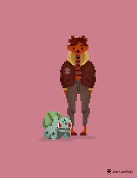 Pixel Art Practice by Jimmy-ilustra