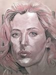 Agent Scully Greytoned Paper by amherman