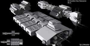 EA Poseidon Class Carrier WIP by Lc4Hunter