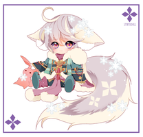 [CLOSED] PuffyPouri ADOPTABLE 02 - AUCTION by SawaiiDoll