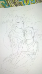 Usually, I care whether or not you're ok (WIP) by lainypen