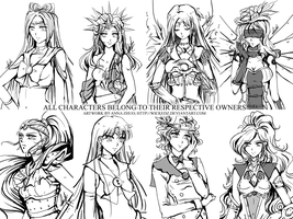 R: Sketch Batch 1 by ann4rt