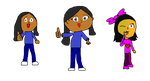 VGKing1Mix Cartoons Over Time: Suhani Bhatia by videogameking613