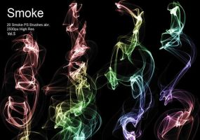 20 Smoke PS Brushes abr. Vol.5 20 by fhfgdjjkhjkj