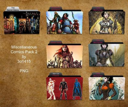 Other Comics Folder Pack 2 by 3o1415