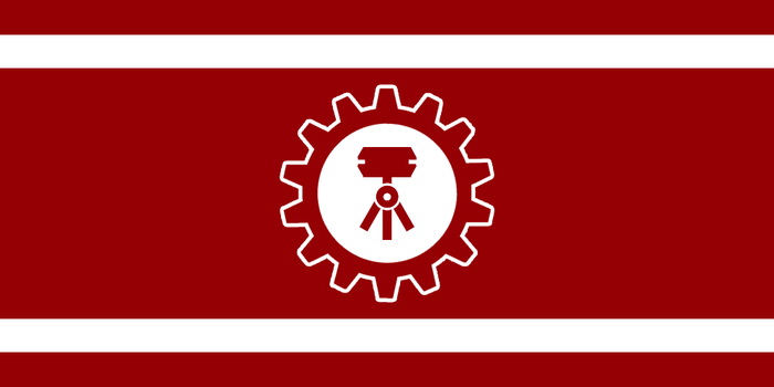 Flag of the DPC Muskiev by RvBOMally