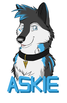 Askie Badge - Commission by Silenthowl7