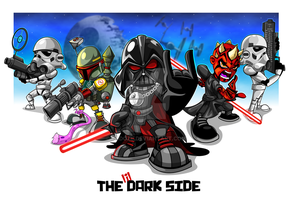 The Little Dark Side by kudoze