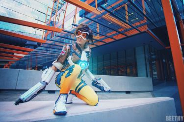 Overwatch - Tracer by beethy