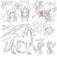 Steinar Concepts 3 - THE AGONY by Taralen
