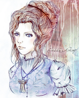 Tessa Gray- Coloured Version by Miss-T-fy
