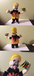 Guy Fieri (felt doll) by MichelleBergeron