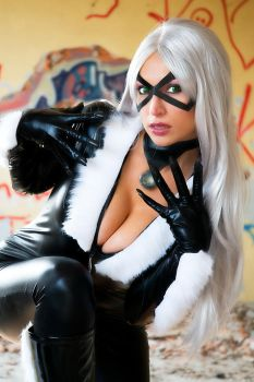 BLACK CAT BACK IN ACTION by Giorgiacosplay