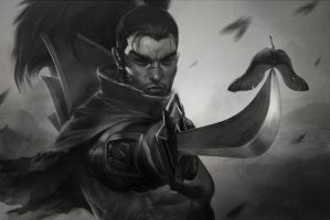 A Sword without a Sheath by Artgerm