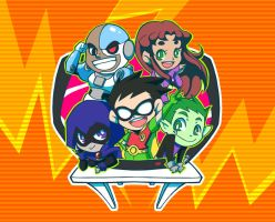 TEEN TITANS2 by kope40