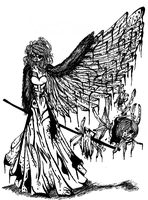 Bethany, the Cannibal of Fallen Angels by MollyFisen