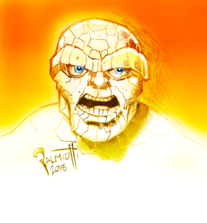 The THING of the Fantastic Four by PeterPalmiotti