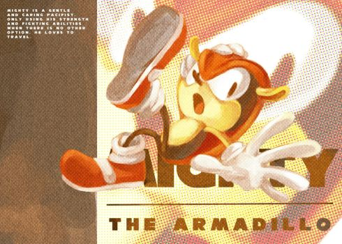 Mighty the Armadillo by cafe-star