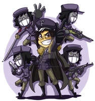 Filbot Army by forte-girl7